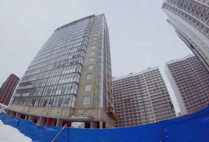 ЖК «Краски лета»: ход строительства (ноябрь 2016)