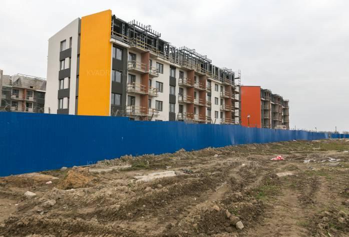 ЖК «Inkeri»: ход строительства (октябрь 2016)
