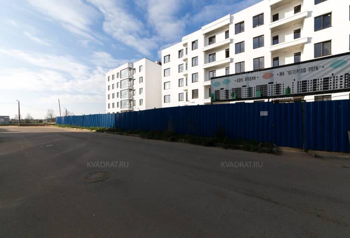 ЖК «Петергоф Парк»: октябрь 2016