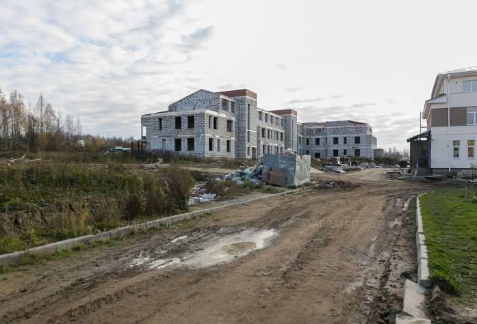 ЖК «Петровская мельница»: октябрь 2016