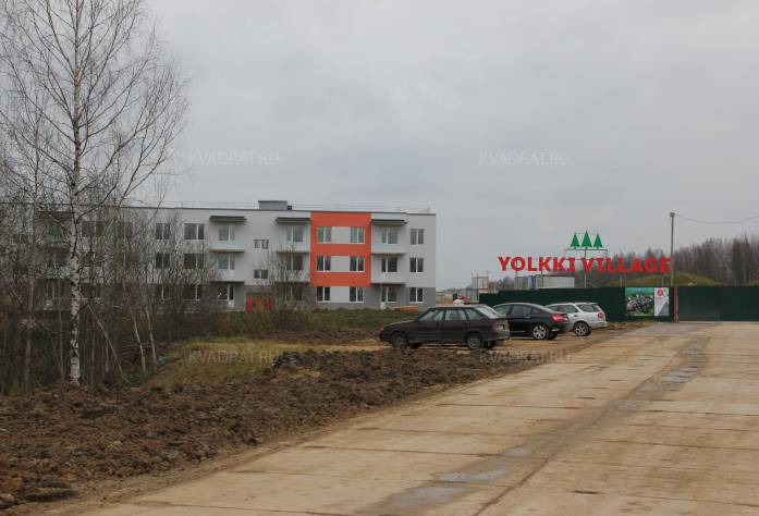 Дорога к ЖК «Yolkki Village»