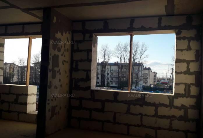 ЖК «Дом с фонтаном»: территория строительства (октябрь 2016)