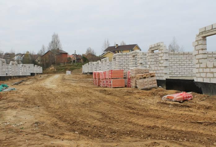 ЖК «Альпийская деревня»: октябрь 2016