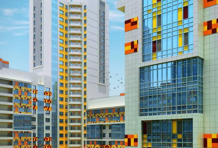 ЖК «Триумф Парк»: визуализация (4 очередь)