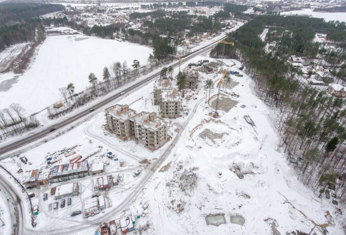 ЖК «Горки Парк»: ход строительства (ноябрь 2016)