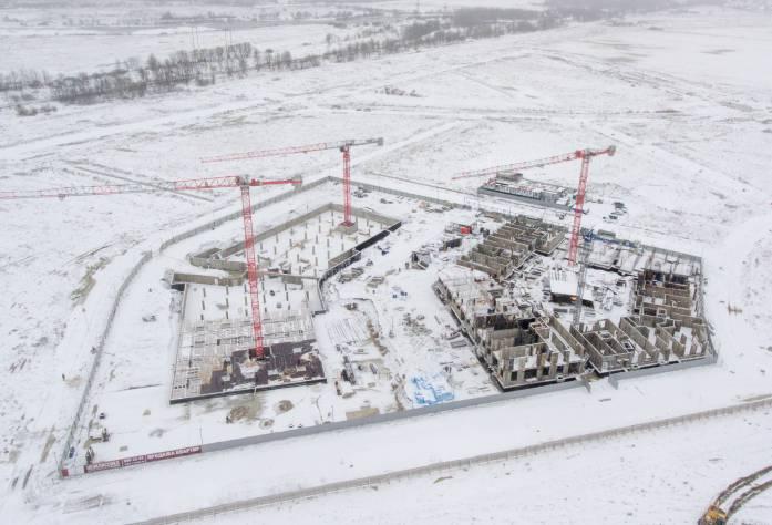 Жилой комплекс «Неоклассика»: ход строительства (ноябрь 2016)