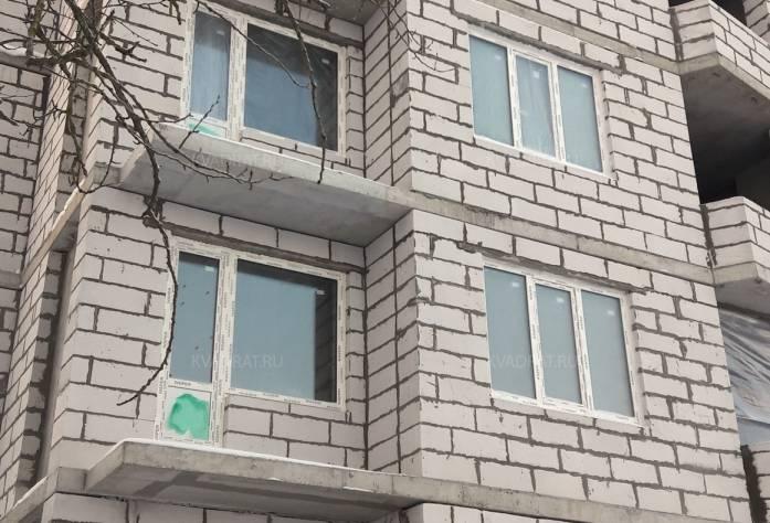ЖК «Дом с фонтаном»: территория строительства (ноябрь 2016)