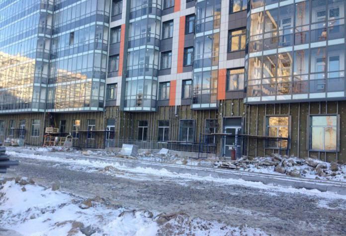 «UP-квартал «Светлановский»: ход строительства (декабрь 2016)