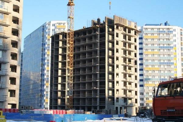 ЖК «Вернисаж»: ход строительства (декабрь 2016)