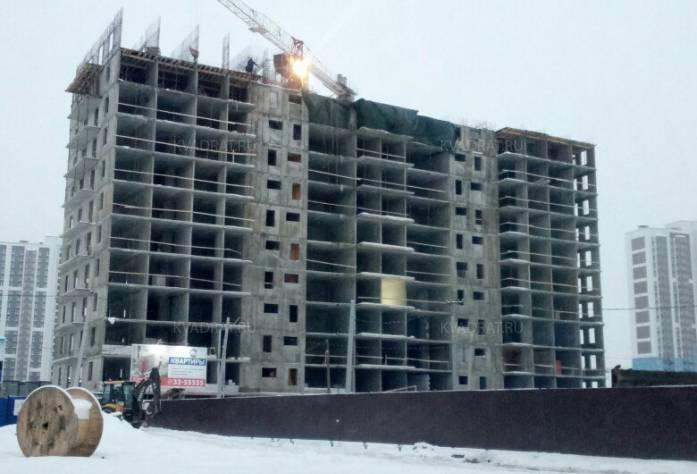 Жилой комплекс «Космосstar»: ход строительства: декабрь 2016