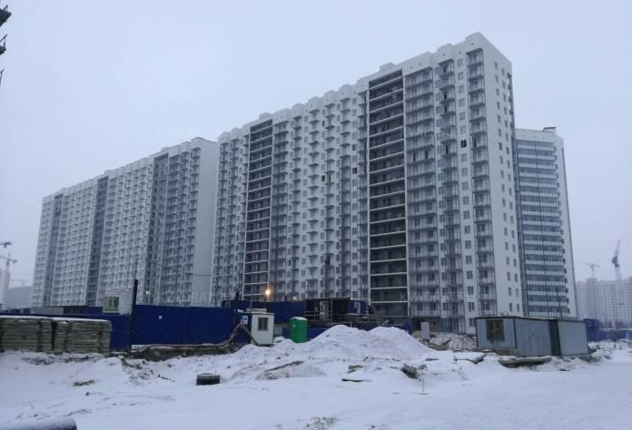 ЖК «Краски Лета»: ход строительства (декабрь 2016)