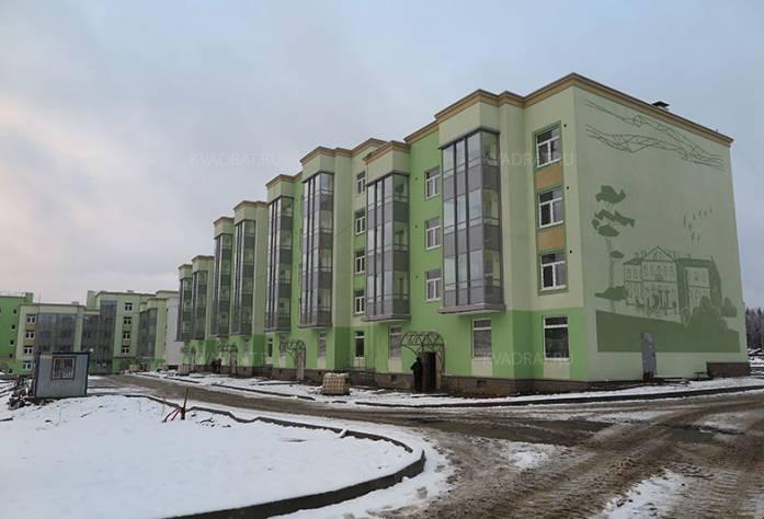 ЖК «Новое Сертолово» (декабрь 2016)