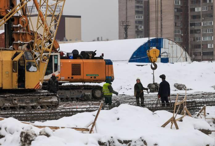 ЖК «Ренессанс»: ход строительства (декабрь 2016)