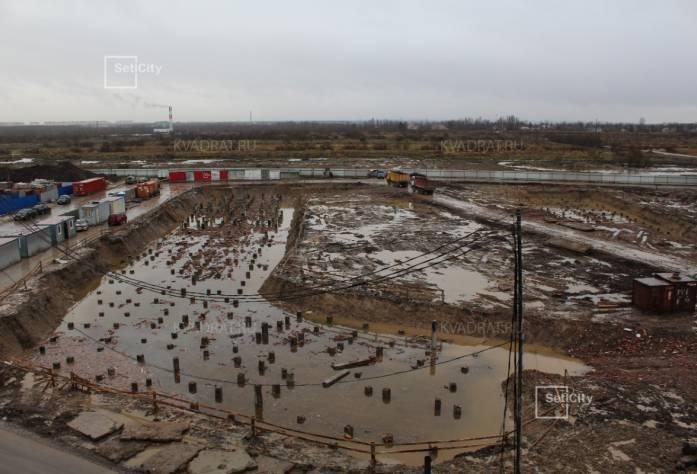 ЖК «Солнечный город»: ход строительства (декабрь 2016)