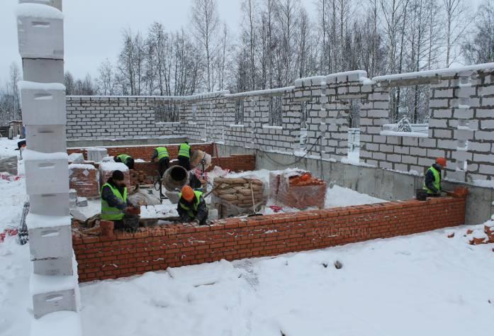 ЖК «Альпийская деревня»: ход строительства (январь 2017)