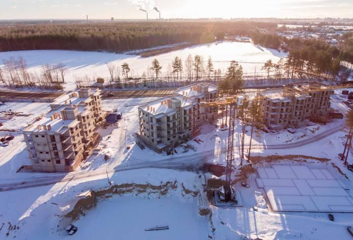 ЖК «Горки Парк»: ход строительства (январь 2017)