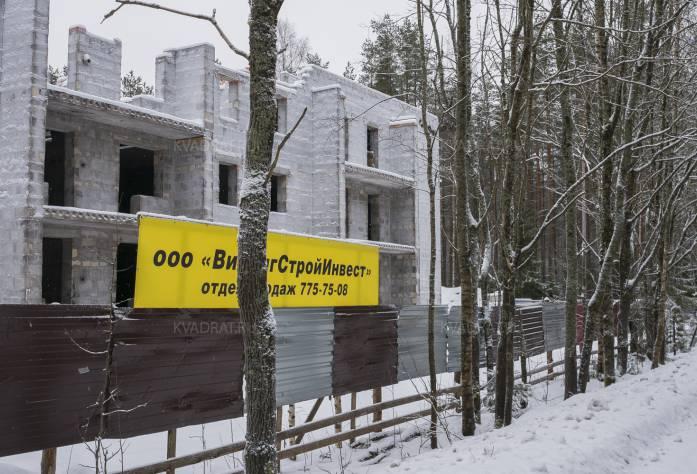 ЖК «в поселке Семиозерье» (февраль 2017)