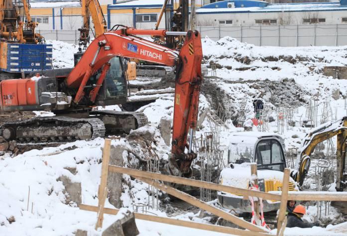 ЖК «Ренессанс»: ход строительства (февраль 2017)