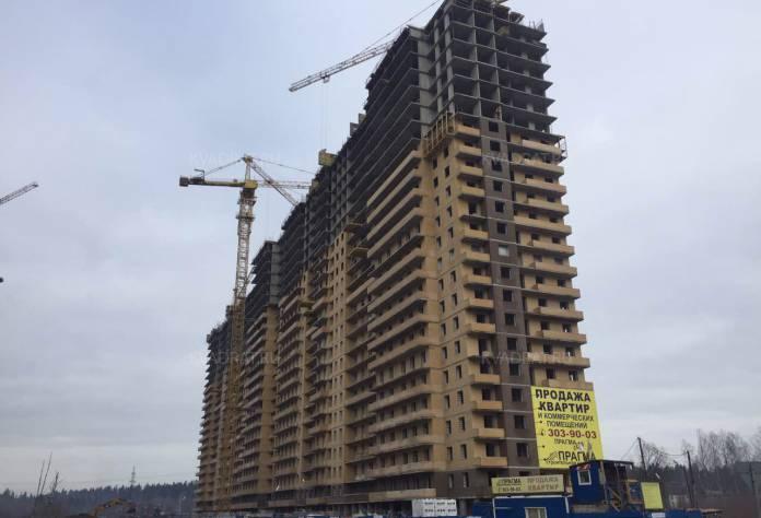 ЖК «Прагма City»: ход строительства (март 2017)