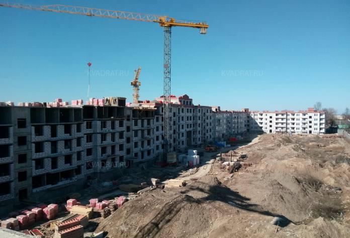 ЖК «Дом с фонтаном»: территория строительства (апрель 2017)