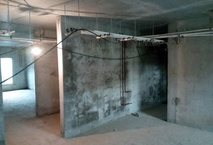 ЖК «Дом с фонтаном»: территория строительства (июнь 2017)