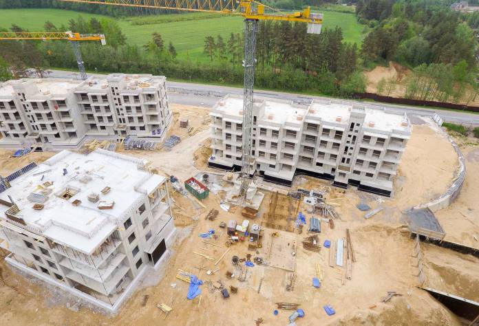 ЖК «Горки Парк»: ход строительства (июнь 2017)