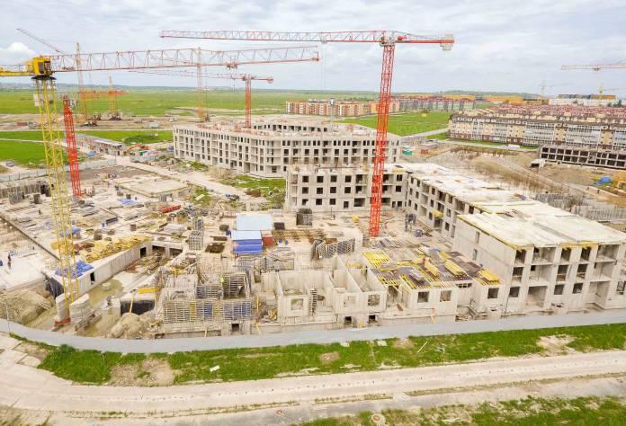 Жилой комплекс «Неоклассика»: ход строительства (июнь 2017)