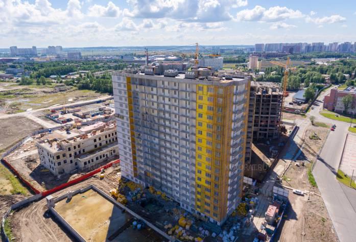 Жилой комплекс «Космосstar»: ход строительства (8 августа 2017 года)