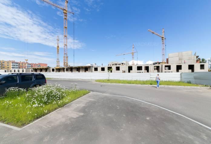 ЖК «Новый Петергоф»: ход строительства (август 2017)
