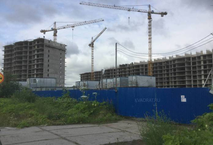 ЖК «Яркий»: ход строительства (август 2017)