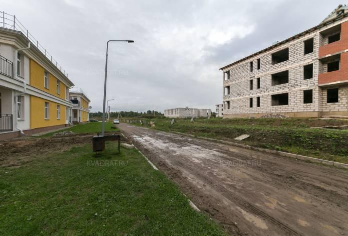 ЖК «Петровская мельница»: ход строительства (октябрь 2017)