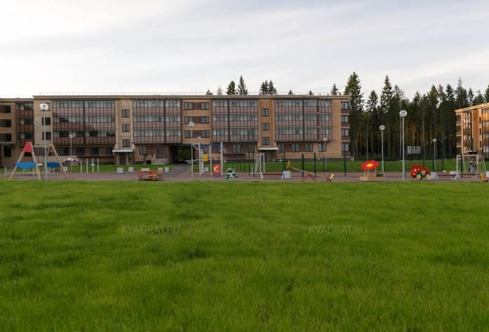 ЖК «Чистый ручей»: ход строительства (октябрь 2017)