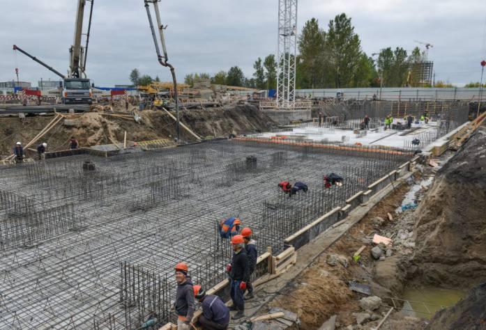 ЖК «Светлый мир «Жизнь...»: ход строительства (сентябрь 2017 года)