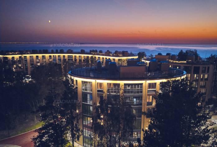 Санаторно-курортный комплекс «Светлый мир «Внутри»: 1 очередь (сдана). октябрь 2017 года