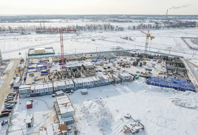 Жилой комплекс «Неоклассика»: ход строительства 2 очереди (март, 2018)