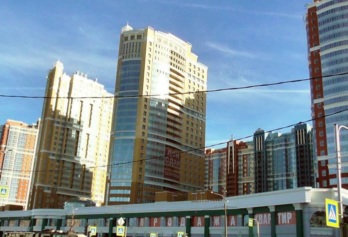 Строительство жилого комплекса «Лондон Парк», май 2018