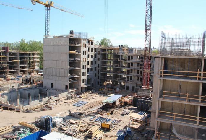 ЖК «Георг Ландрин»: ход строительства (май)