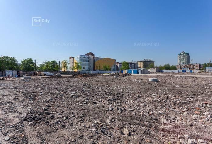 Ход строительства ЖК «Облака на Лесной»: июнь 2018 г.