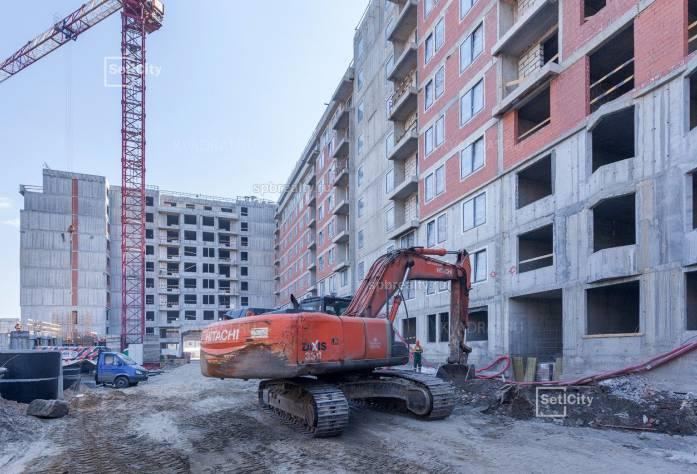Ход строительства ЖК «Палаццио»: июнь 2018 г.