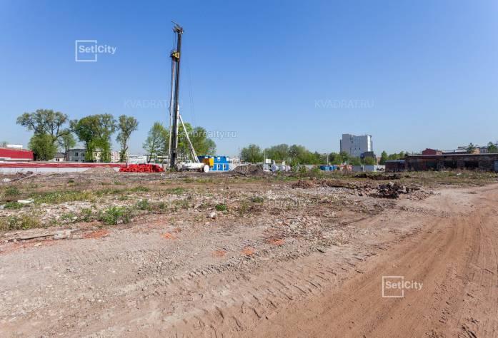 Ход строительства ЖК «Притяжение»: июнь 2018 г.
