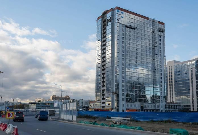 ЖК «Salut!: ход строительства (октябрь 2015)