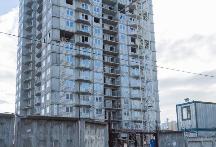 ЖК «Парголово»: ход строительства (21.10.2015)