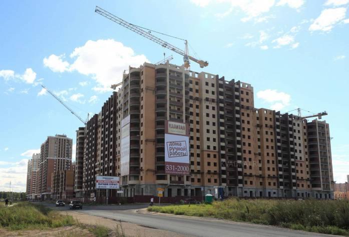 Строительство ЖК «Капитал» (27.08.2015)