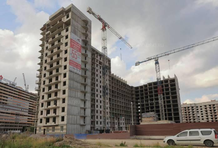 ЖК «Сокол»: ход строительства (28.09.2015)