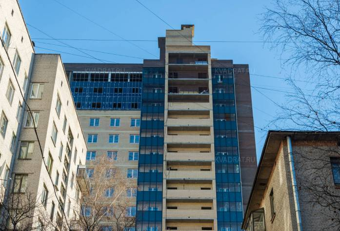 ЖК «Александрит»: ход строительства (ноябрь 2015)