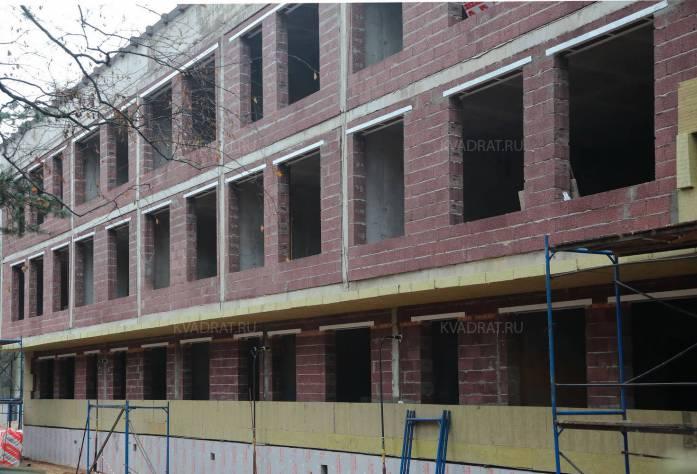 ЖК «Булгаков»: ход строительства (декабрь 2015)