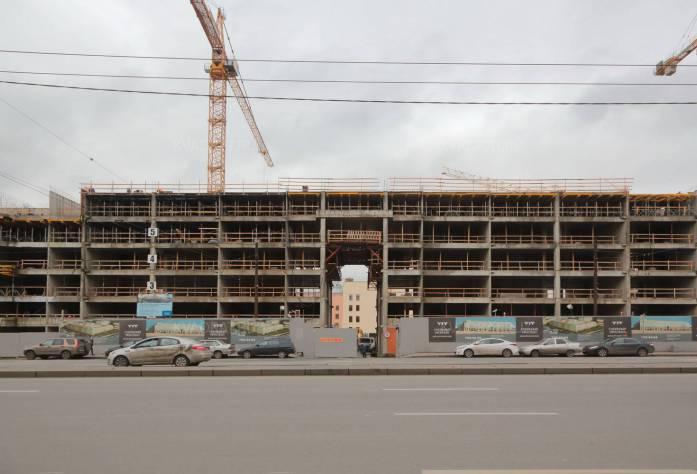 Жилой комплекс «Смольный проспект» (декабрь 2015)