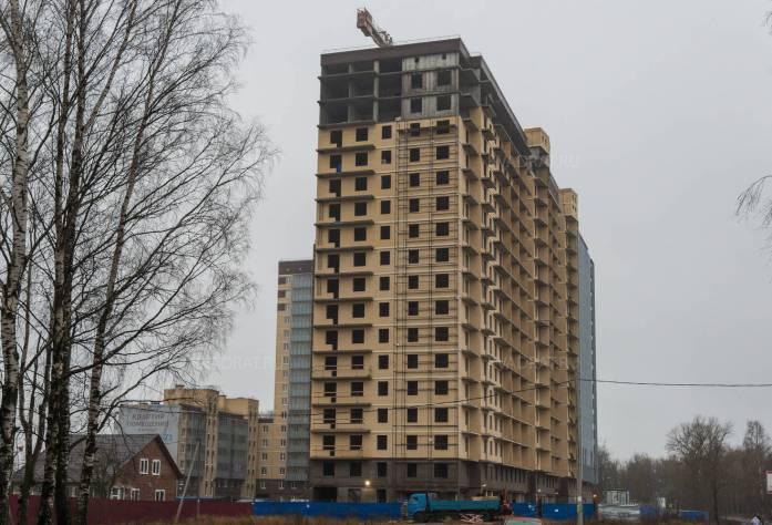 ЖК в г. Кировск (декабрь 2015)