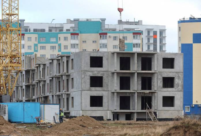 ЖК «Центральный» (январь 2016)