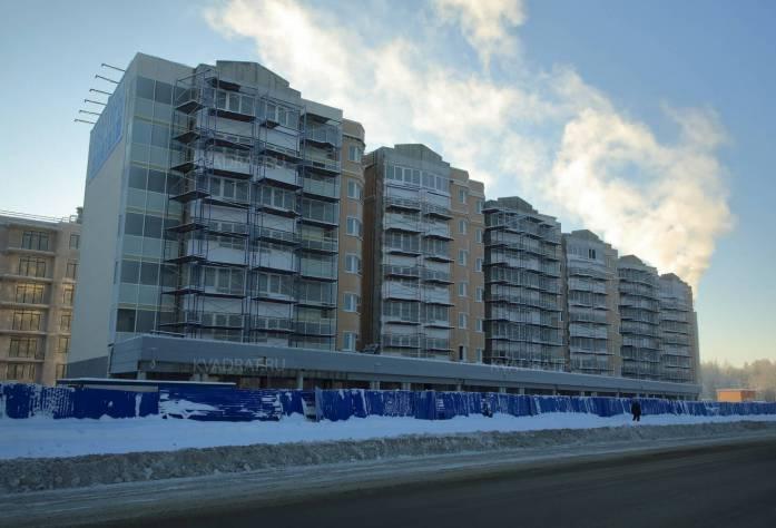 Жилой комплекс «Новая Скандинавия» (февраль 2016)